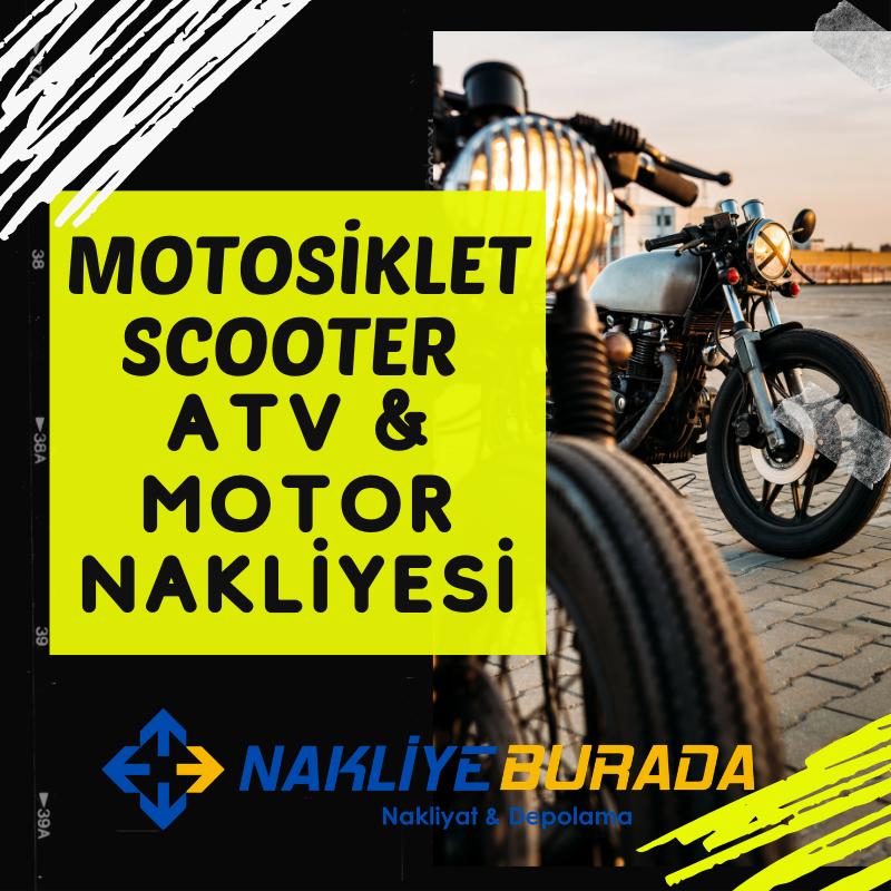 Motosiklet Scooter Atv Motor Nakliyesi